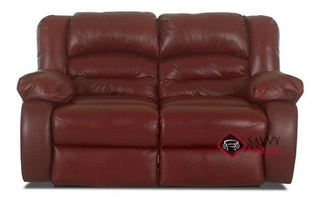 Augusta Leather Loveseat