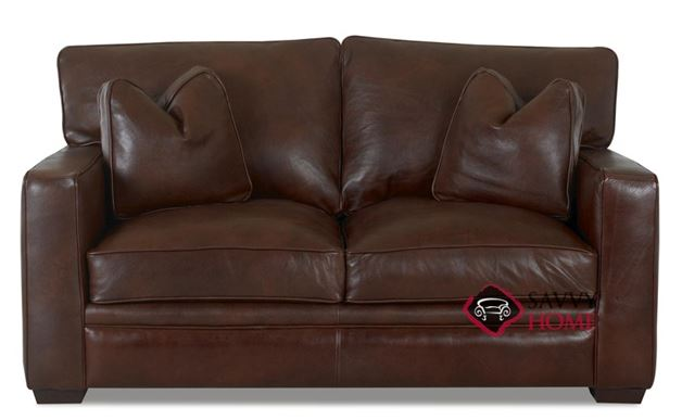 Houston Leather Loveseat