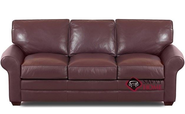 Montreal Queen Leather Sleeper Sofa