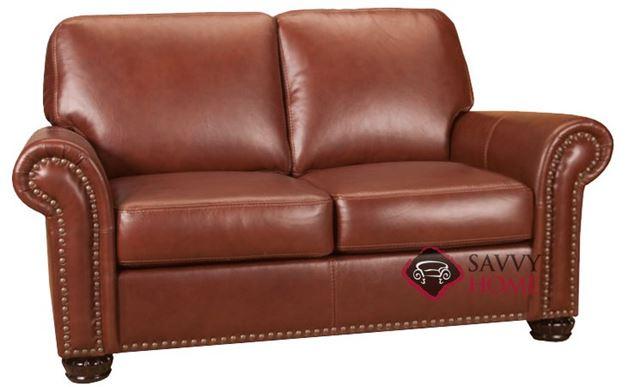 Woodland Leather Loveseat