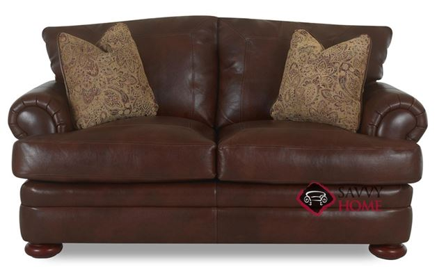 Montezuma Leather Loveseat