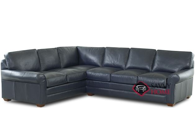 Montreal Leather Stationary True Sectional By Savvy Is