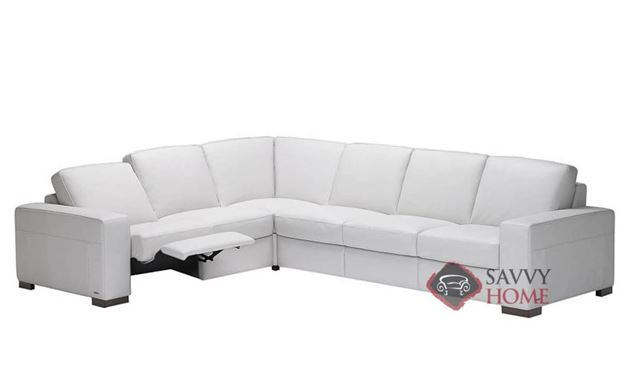 A397 Dual Reclining Sectional (RAF) shown in Belfast White