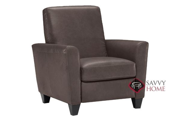 B592 Recliner shown in Belfast Dark Brown