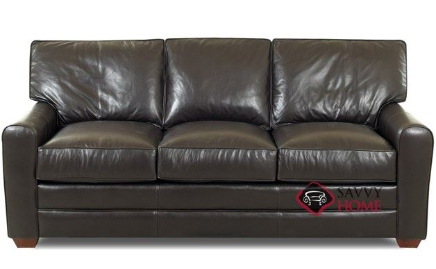 Halifax Queen Leather Sleeper Sofa
