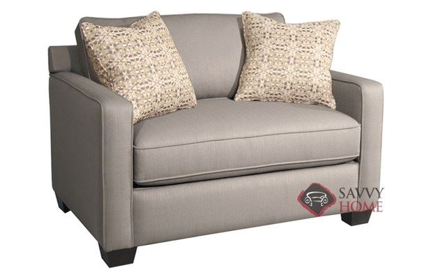Parker Loveseat shown in Calvin Dolphin