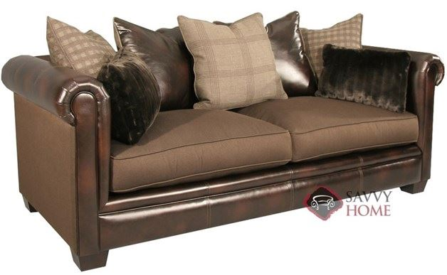Kate Sofa by Fairmont in Tasha Coffee + Will Chocolate