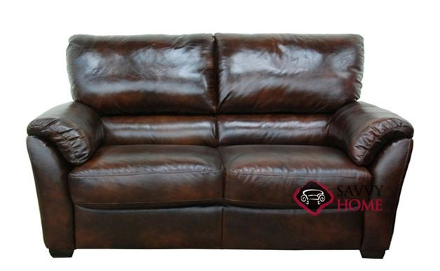 B693 Leather Loveseat