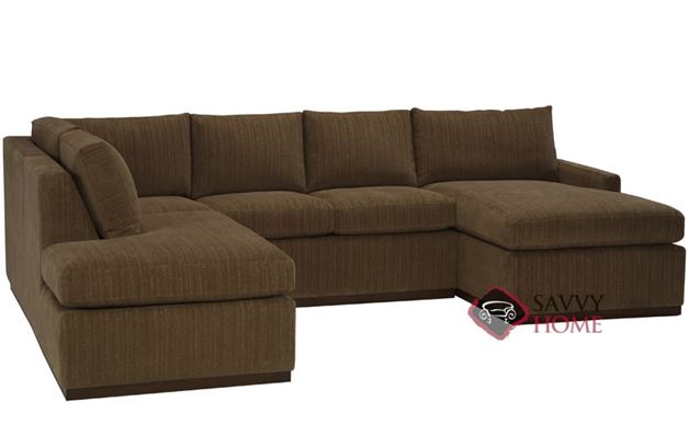 Terra U-Sectional with Condo Queen Sleeper