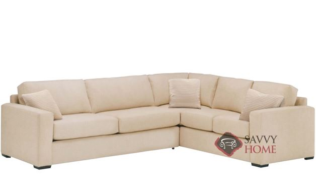 Sutton Place II True Sectional with 2-Cushion Queen Sleeper