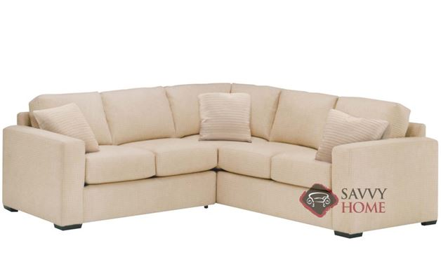 Sutton Place True Sectional with 2-Cushion Twin Sleeper