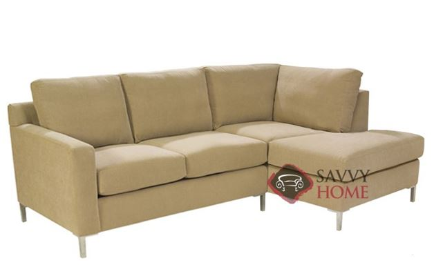 Soho Chaise Sectional with 2-Cushion Loveseat by Lazar Industries