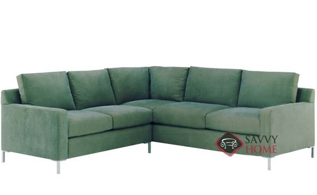 Soho II True Sectional with 2-Cushion Queen Sleeper