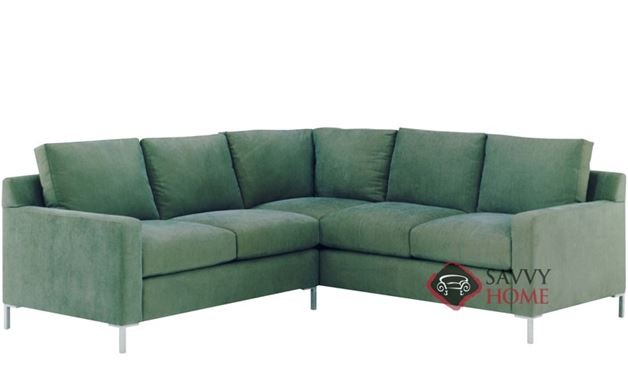 Soho True Sectional with 2-Cushion Loveseat by Lazar Industries