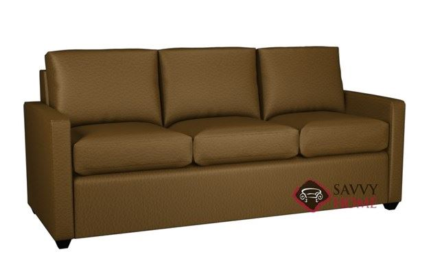 Terra 3-Cushion Leather Queen Sleeper