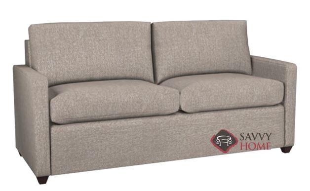 Terra 2-Cushion Condo Queen Sleeper in Woolco Beige