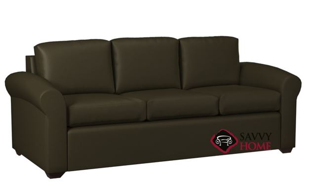 Eclipse 3-Cushion Leather Sofa by Lazar Industries