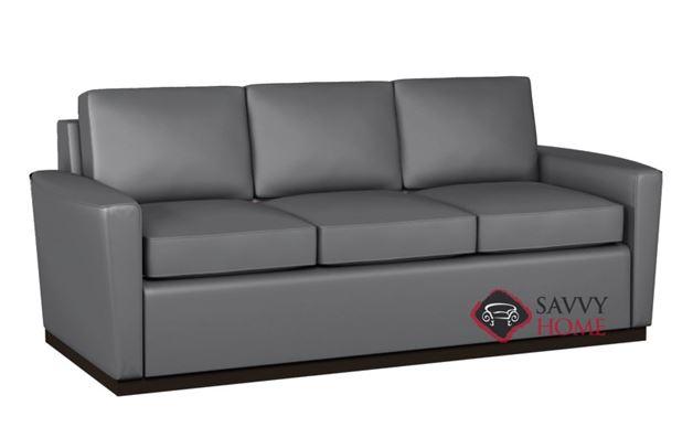 Harmony 3-Cushion Leather Sofa by Lazar Industries