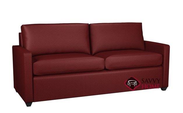 Terra 2-Cushion Leather Condo Queen Sleeper by Lazar Industries