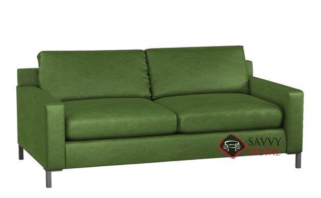Soho II Leather 2-Cushion Queen Sleeper by Lazar Industries