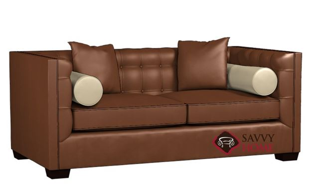 Tommy Leather Sofa by Lazar Industries