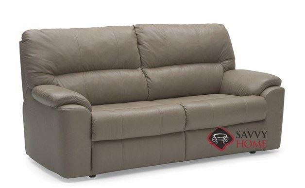 Yale Full Leather Sleeper Sofa