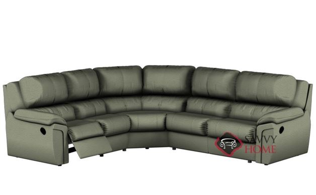 Daley Reclining True Sectional Sofa by Palliser--Power Upgrade Available