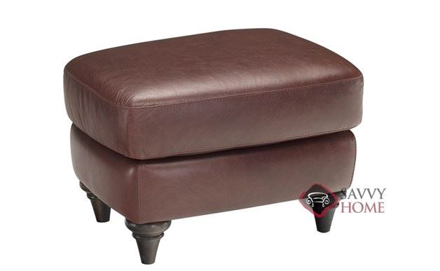 A297 Leather Ottoman by Natuzzi