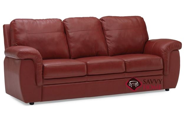 Brunswick Leather Sofa by Palliser
