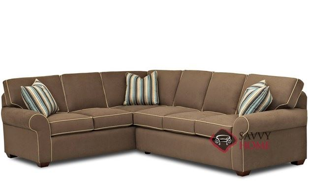 Seattle True Sectional Full Sofa Bed by Savvy
