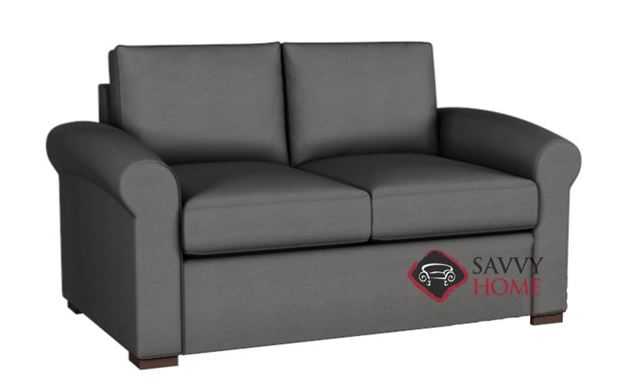 Eclipse Leather Loveseat by Lazar Industries