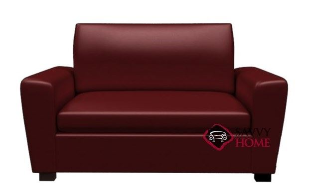 Geo Leather Chair Earth Designs Sleeper by Lazar