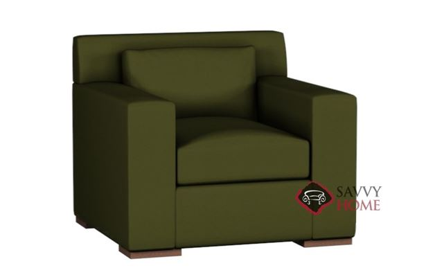 Corvo Leather Arm Chair by Lazar Industries