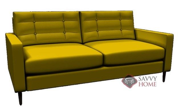 Paramount Leather Loveseat by Lazar Industries