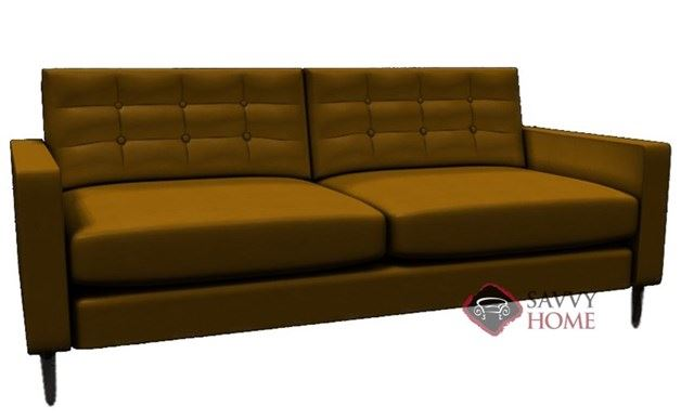 Paramount Leather Sofa by Lazar Industries