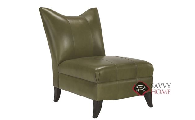 Prague II Leather Armless Chair by Lazar Industries