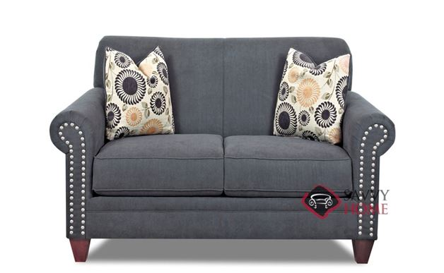 Grand Coulee Loveseat by Savvy in Landers Gunmetal