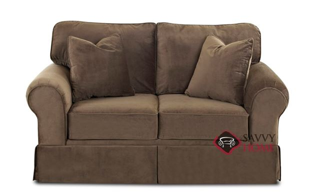 Woodinville Loveseat by Savvy in Bruges Chocolate