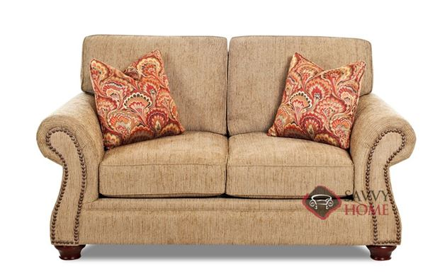 Shelton Loveseat by Savvy in Bentley Mocha