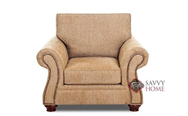 Shelton Arm Chair by Savvy in Bentley Mocha