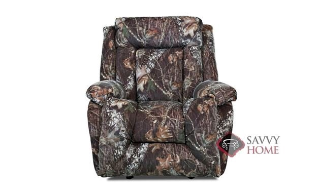 Tumwater Reclining and Rocking Chair by Savvy in Mossy Oak