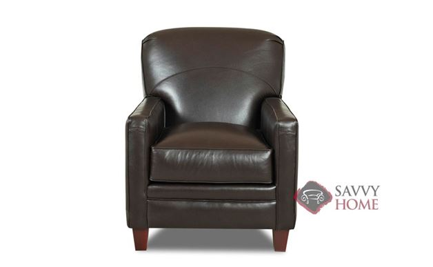 Waltham Leather Recliner by Savvy