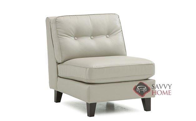 Barbara Leather Armless Chair by Palliser