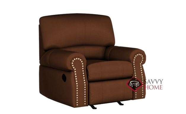 Charleston Rocking and Reclining Leather Chair by Palliser