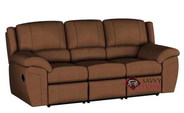 Daley Dual Reclining Leather Sofa by Palliser