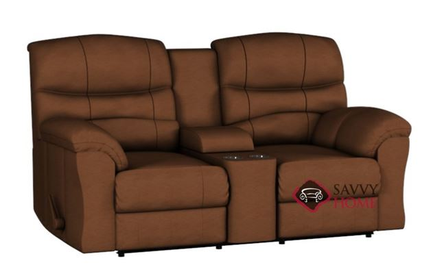 Durant Dual Reclining Leather Loveseat by Palliser