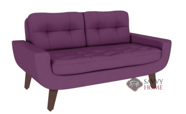 Ava Leather Loveseat by Lazar Industries