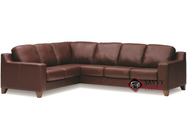 Reed Leather Large True Sectional by Palliser