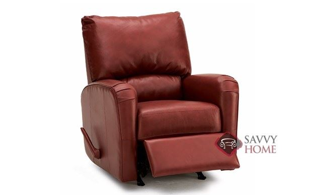 Colt Rocking and Reclining Leather Chair by Palliser--Power Option Available