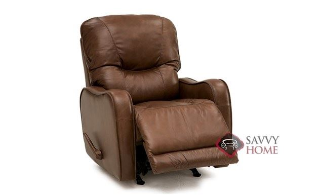Yates Rocking and Reclining Leather Chair by Palliser--Power Option Available